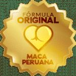 Selo de qualidade do único afrodisíaco natural com maca peruana.